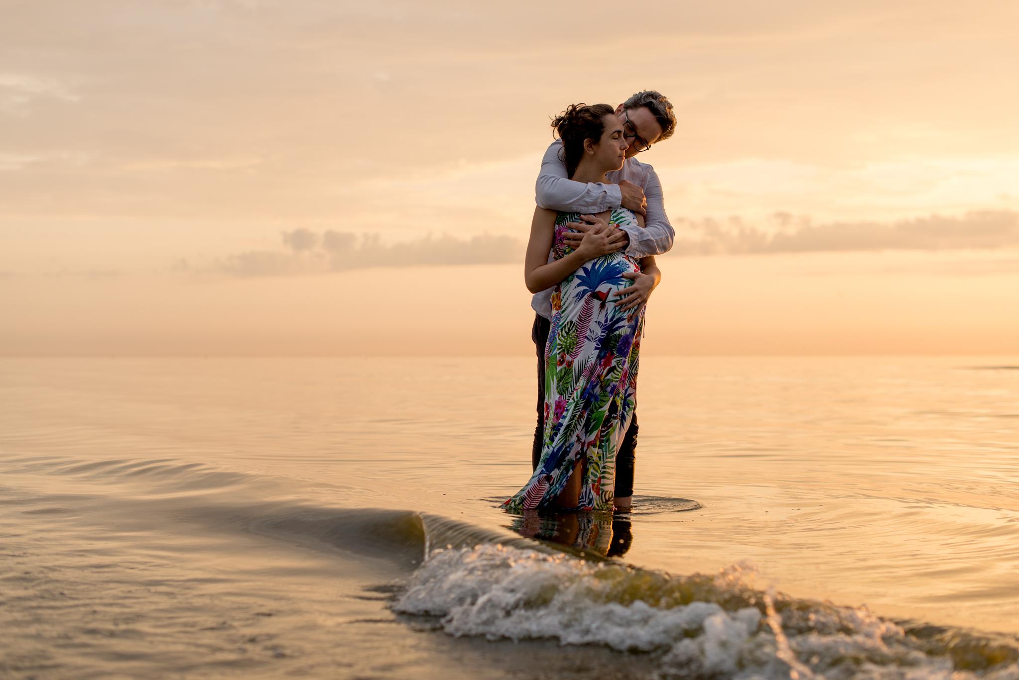 Roberta Giusti Photo - servizio fotografico maternità in spiaggia