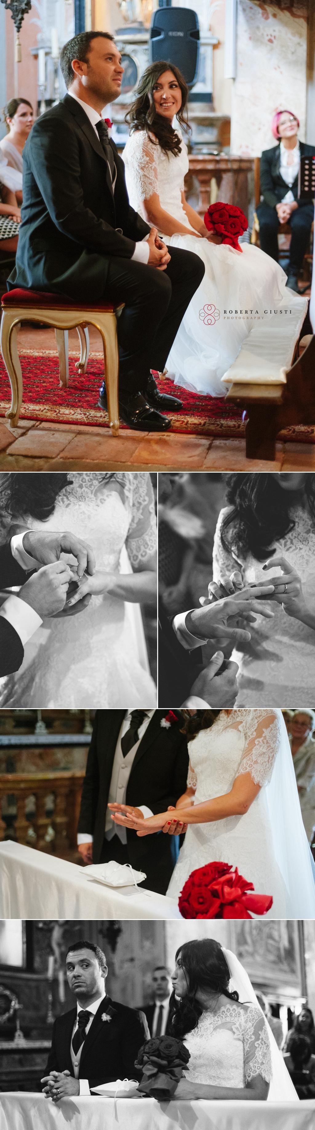 fotografia matrimonio scambio fedi