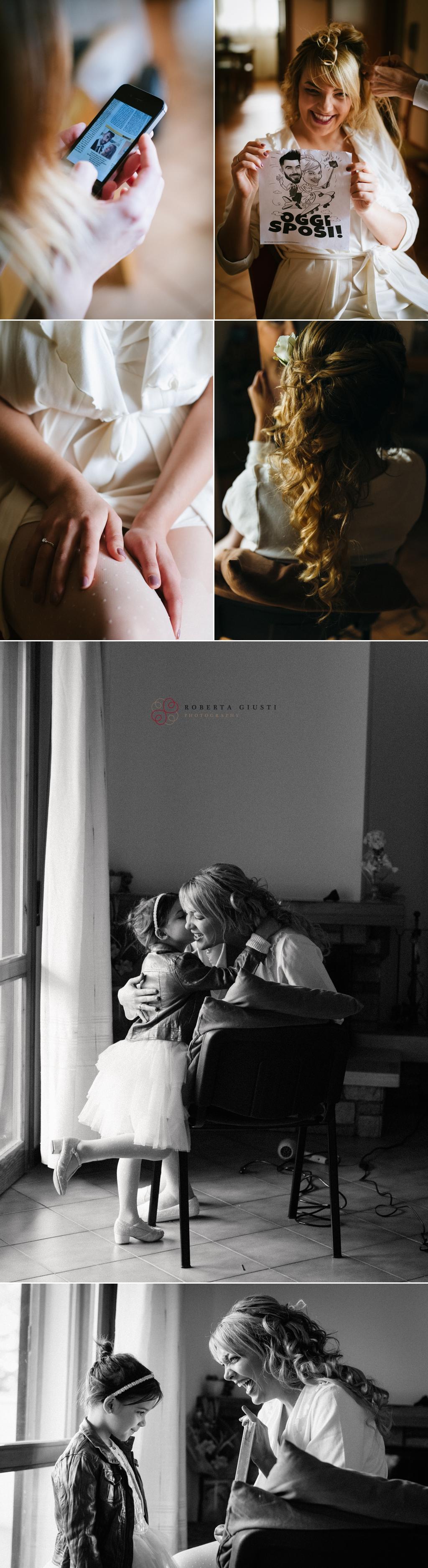 fotografo matrimonio preparativi sposa