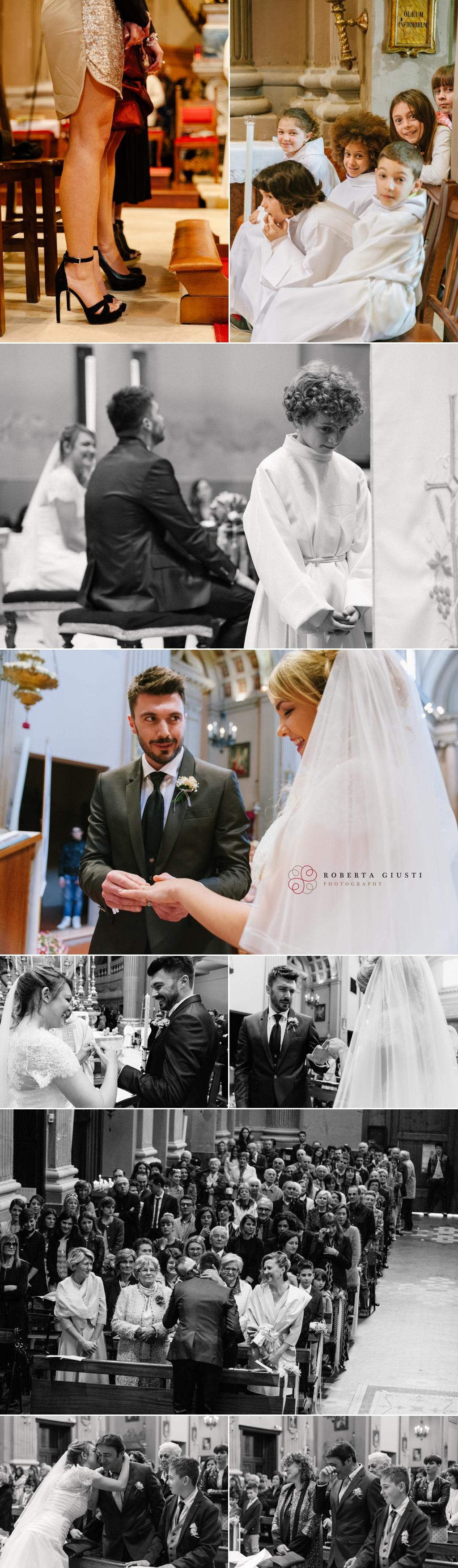 fotografo matrimonio scambio anelli