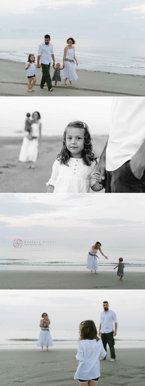fotografia famiglia mare