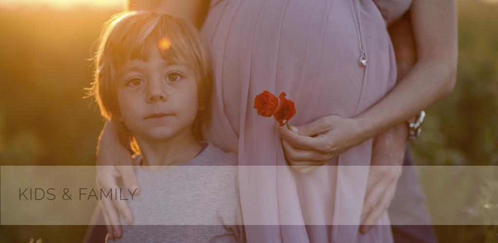 Laura, Andrea e Alessandro in attesa di Leonardo | servizio fotografico gravidanza Bologna