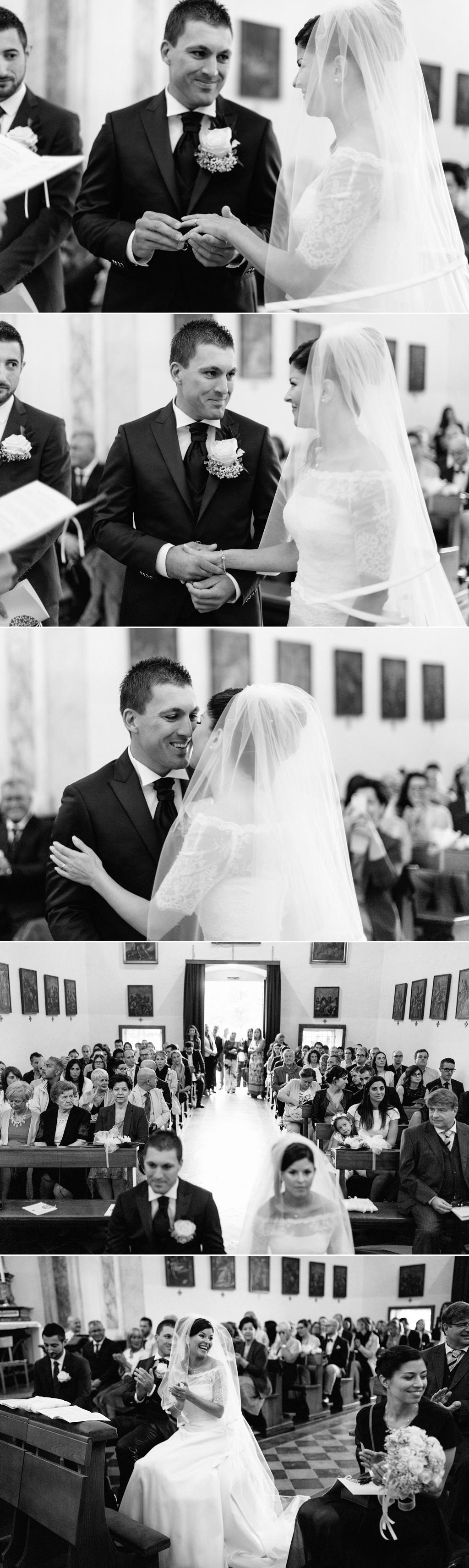 fotografo matrimonio cerimonia scambio anelli