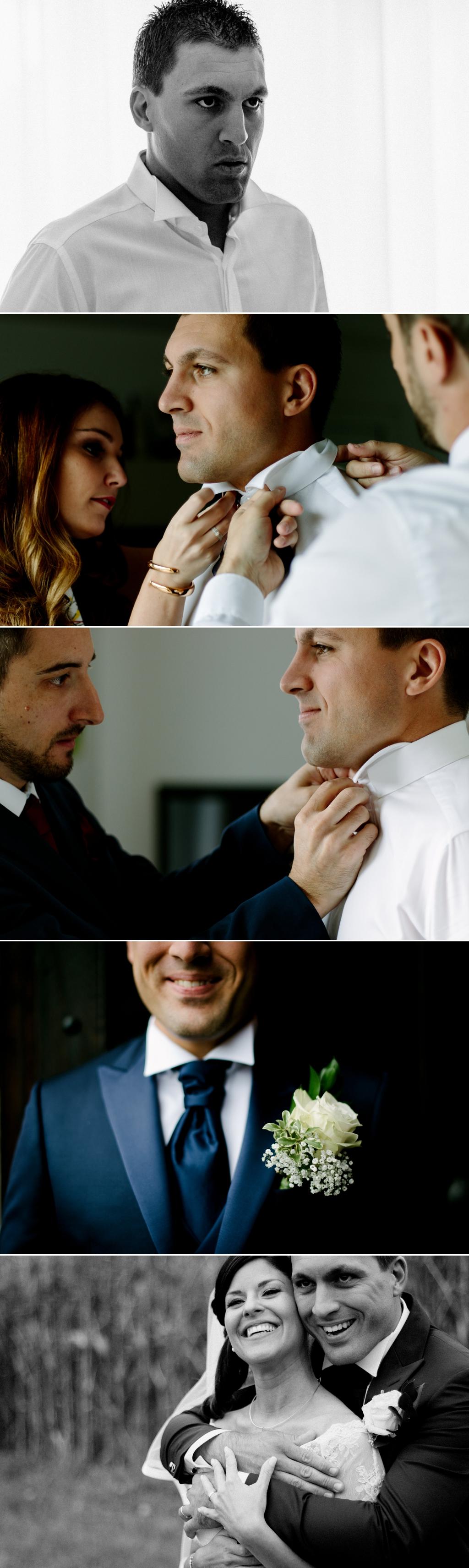 fotografo matrimonio preparativi sposo