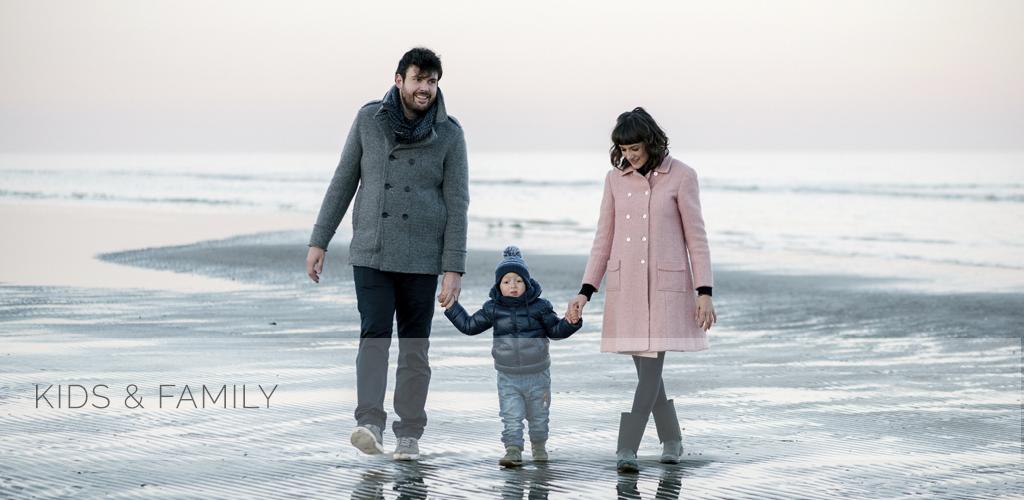 On the Beach | Mara, Stefano & Tobia | Fotografia di famiglia sulla spiaggia di Cervia