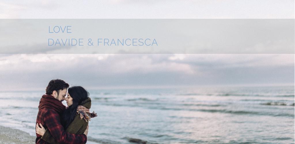 Davide & Francesca | Servizio fotografico di coppia sulla spiaggia di Cervia