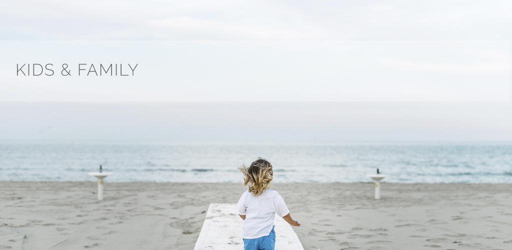 Diego | Servizio fotografico bambini in spiaggia a Cervia