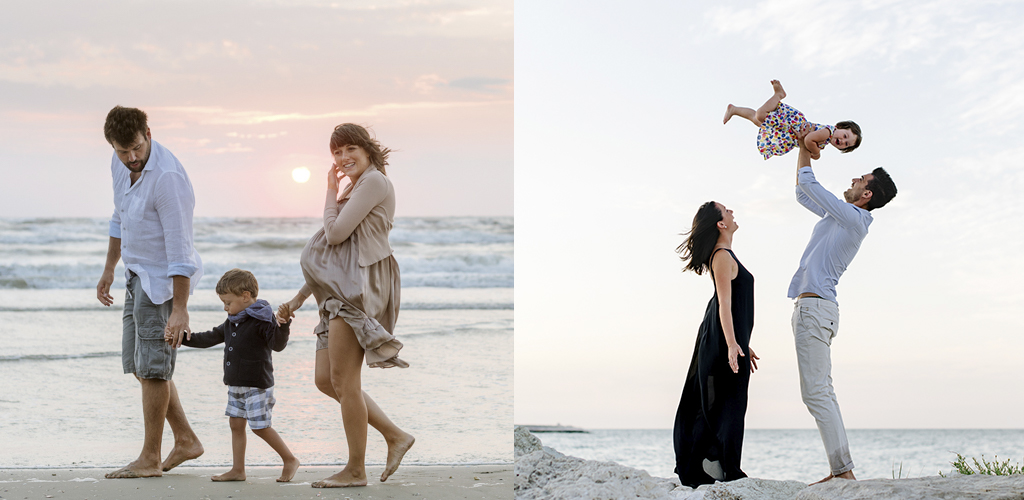Servizio fotografico in spiaggia: Alba o Tramonto?!
